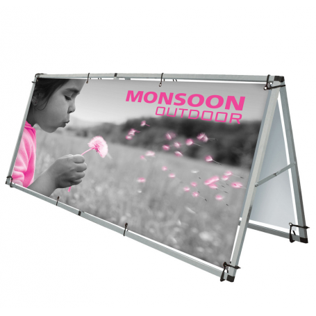 Monsoon Outdoor banner frames