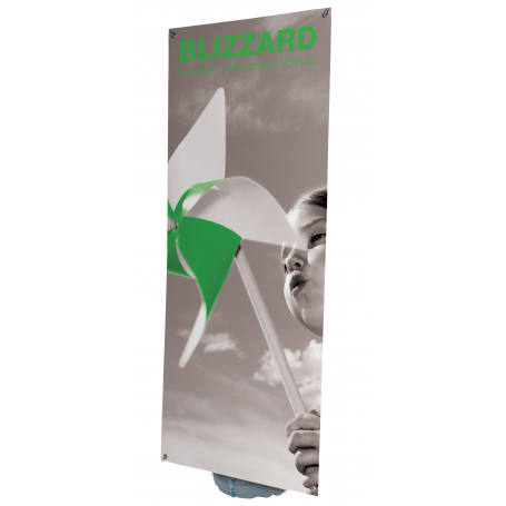 Portable outdoor pvc banners