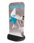 Shield pavement sign