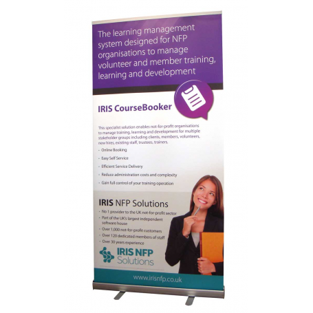 1m wide roll up banners