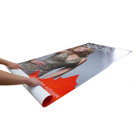 Rollable exhibition graphics