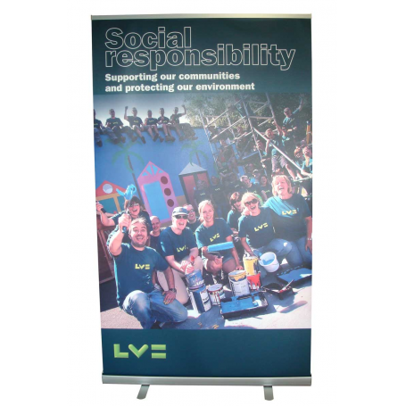 1200mm wide low price roller banners
