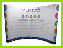 3x4 exhibition pop up stands