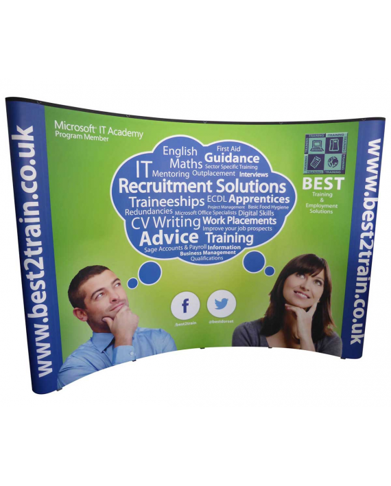 Exhibition Stand Replacement Graphics : Pop up stand graphics panels rgl displays ltd